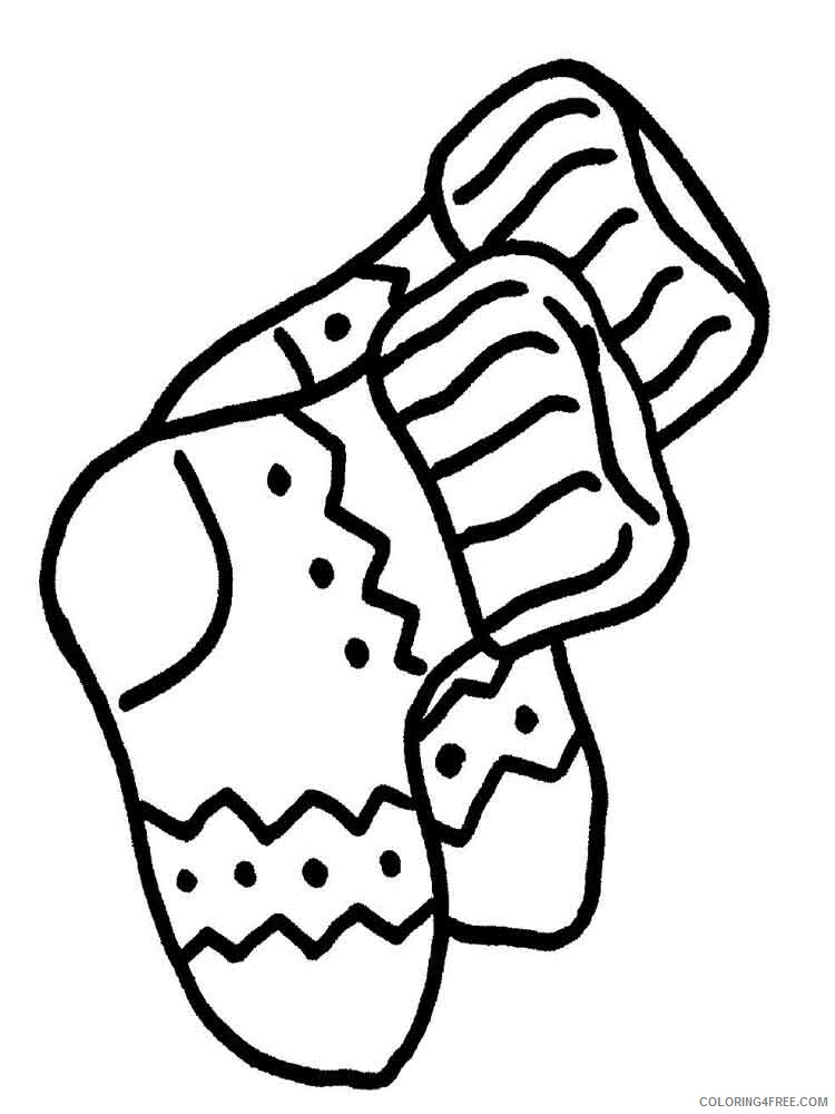 Socks Coloring Pages for Kids socks 11 Printable 2021 637 Coloring4free