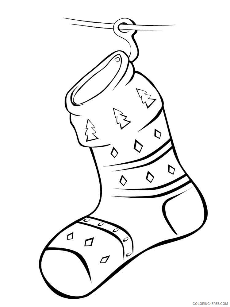 Socks Coloring Pages for Kids socks 8 Printable 2021 642 Coloring4free