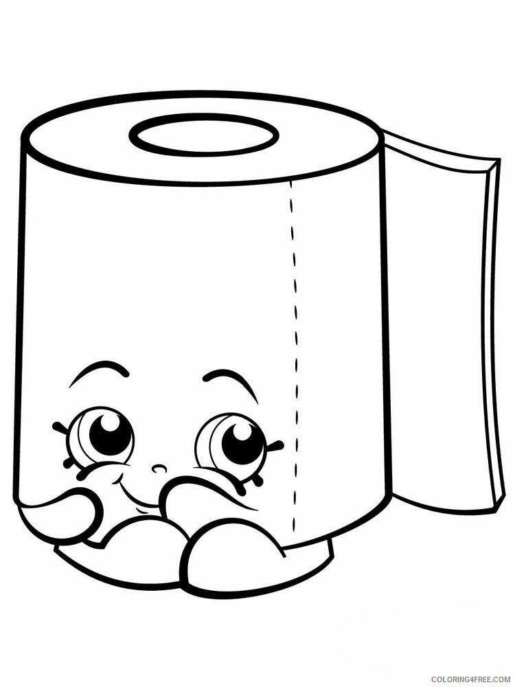 Squishy Coloring Pages For Girls Squishy 11 Printable 2021 1312 Coloring4free Coloring4free Com