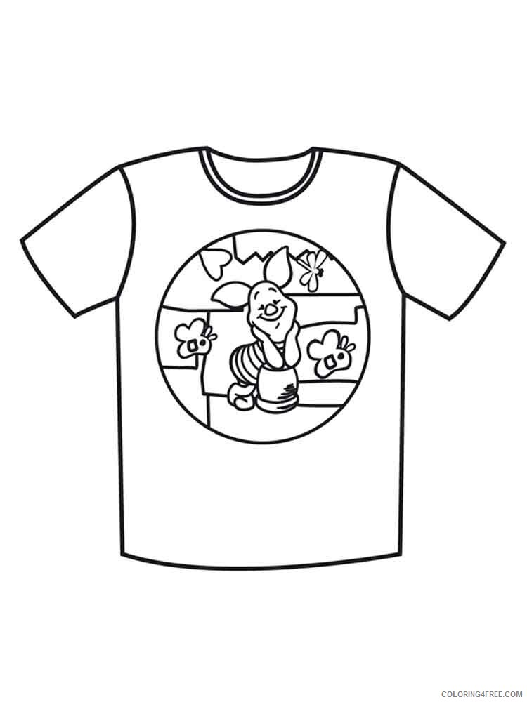 T Shirt Coloring Pages for Kids T shirt 1 Printable 2021 708 Coloring4free