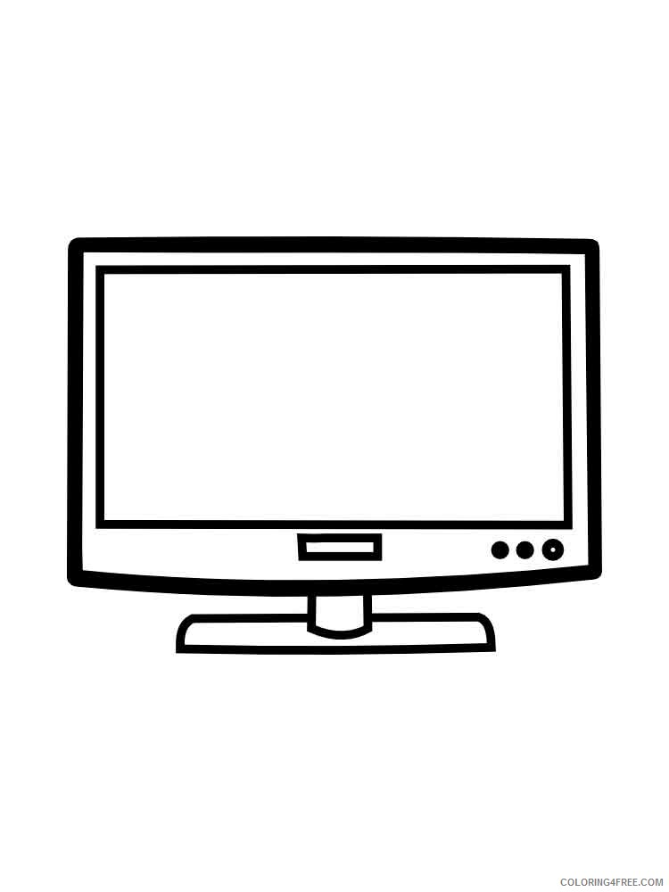 TV Coloring Pages for Kids TV 5 Printable 2021 716 Coloring4free