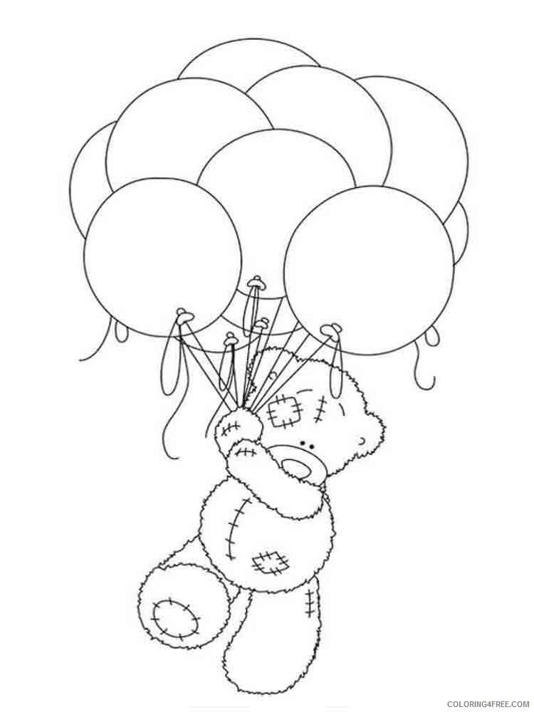 Teddy Bears Coloring Pages for Girls teddy bears 13 Printable 2021 1349 Coloring4free