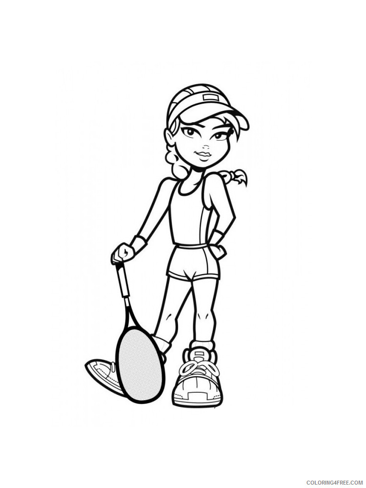 Tennis Coloring Pages for Kids Tennis 17 Printable 2021 658 Coloring4free