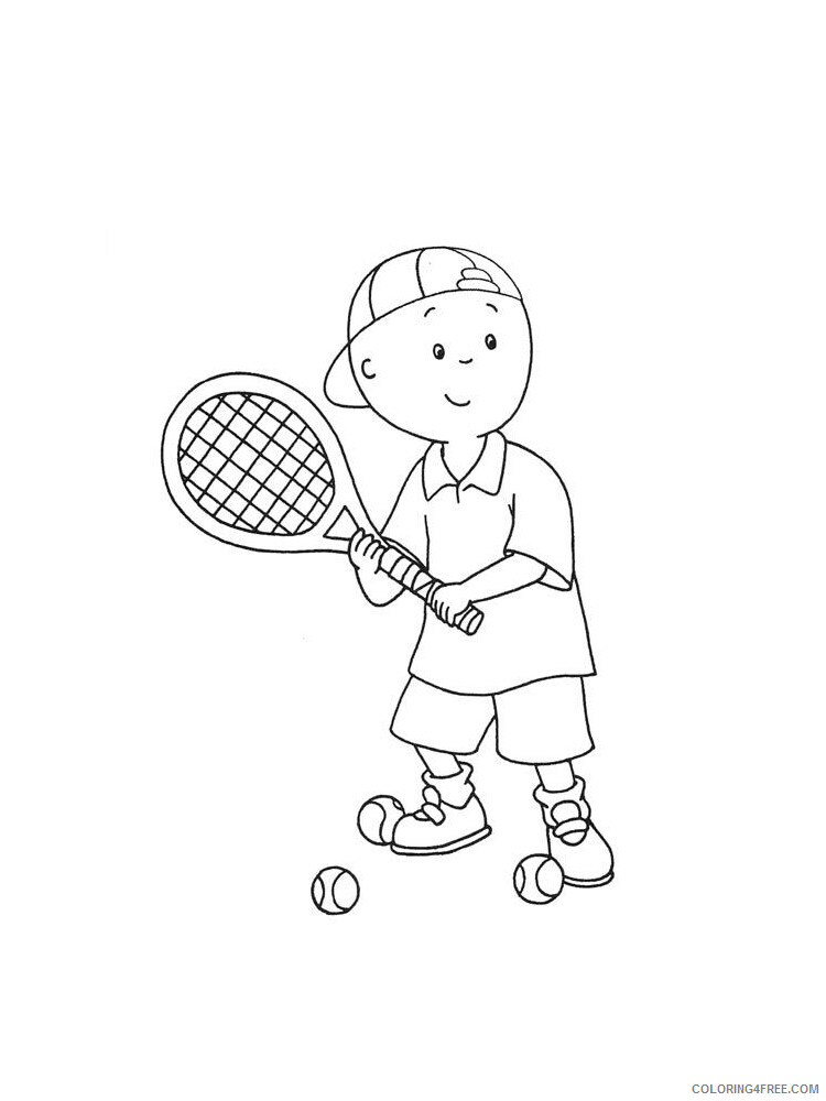 Tennis Coloring Pages for Kids Tennis 4 Printable 2021 664 Coloring4free