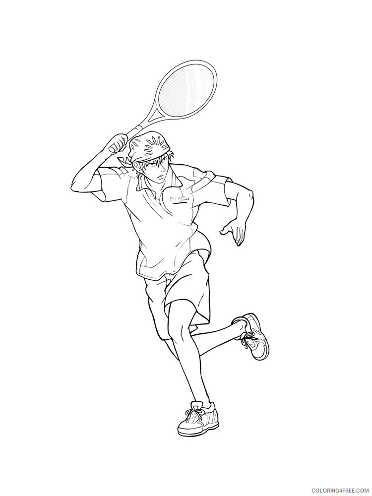Tennis Coloring Pages for Kids Tennis 9 Printable 2021 669 Coloring4free