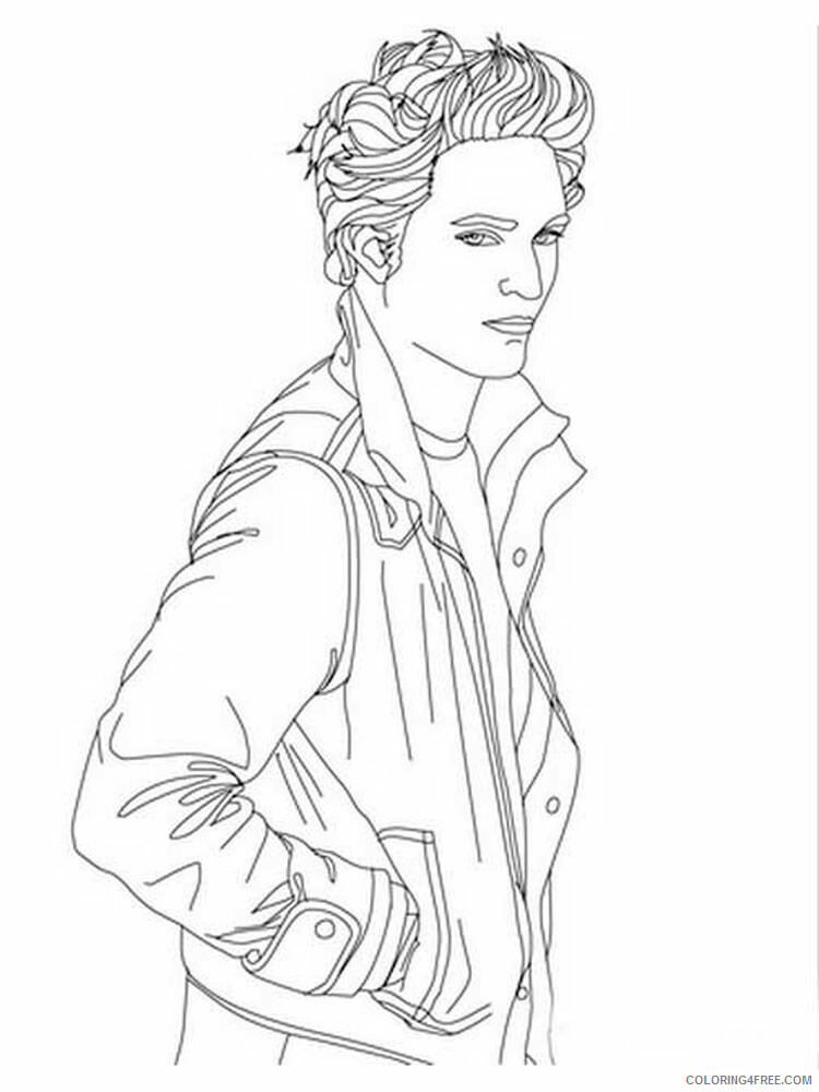 The Twilight Saga Coloring Pages for Girls Printable 2021 1368 Coloring4free