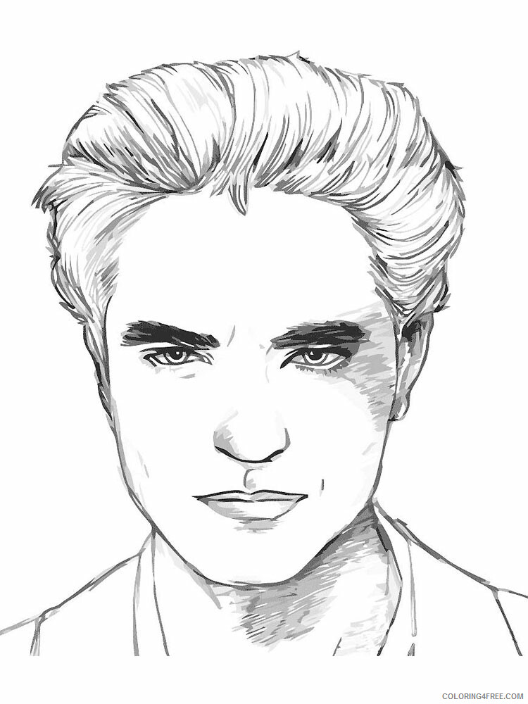 The Twilight Saga Coloring Pages For Girls Printable 2021 1370 Coloring4free Coloring4free Com