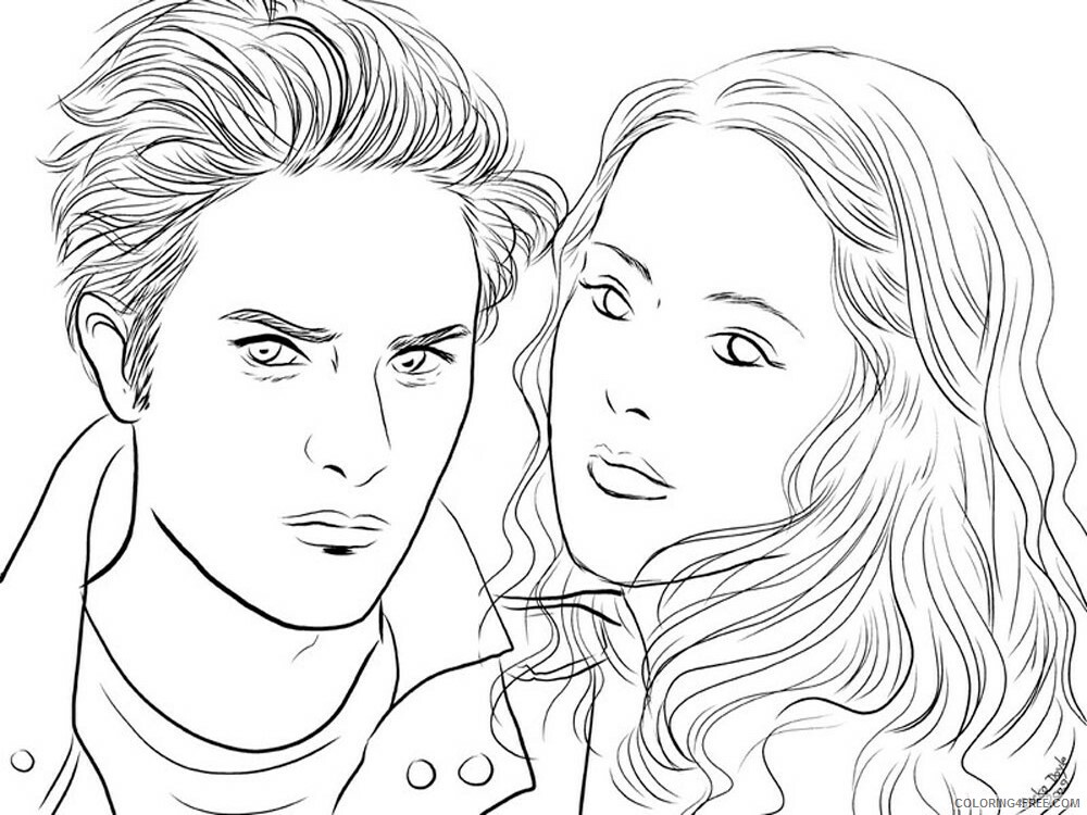 The Twilight Saga Coloring Pages for Girls Printable 2021 1373 Coloring4free