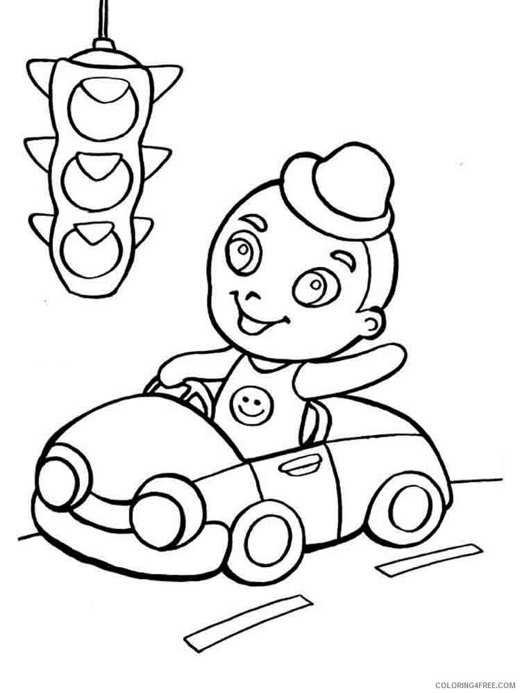 Traffic Light Coloring Pages for Kids traffic light 7 Printable 2021 677 Coloring4free