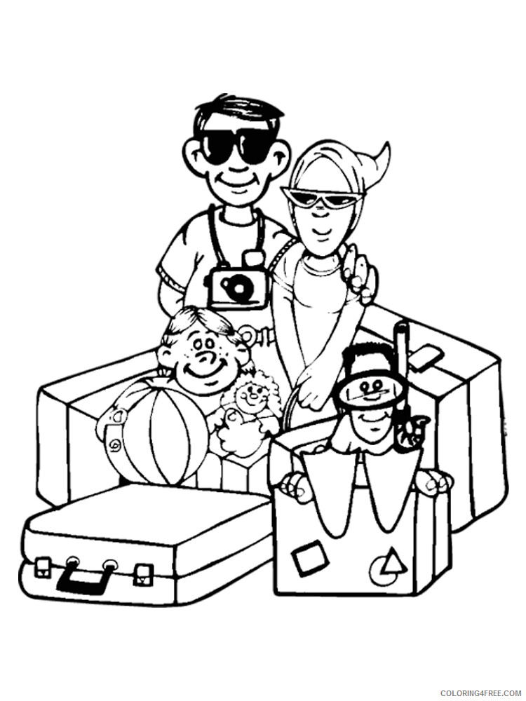 Travel Coloring Pages for Kids Travel 10 Printable 2021 680 Coloring4free