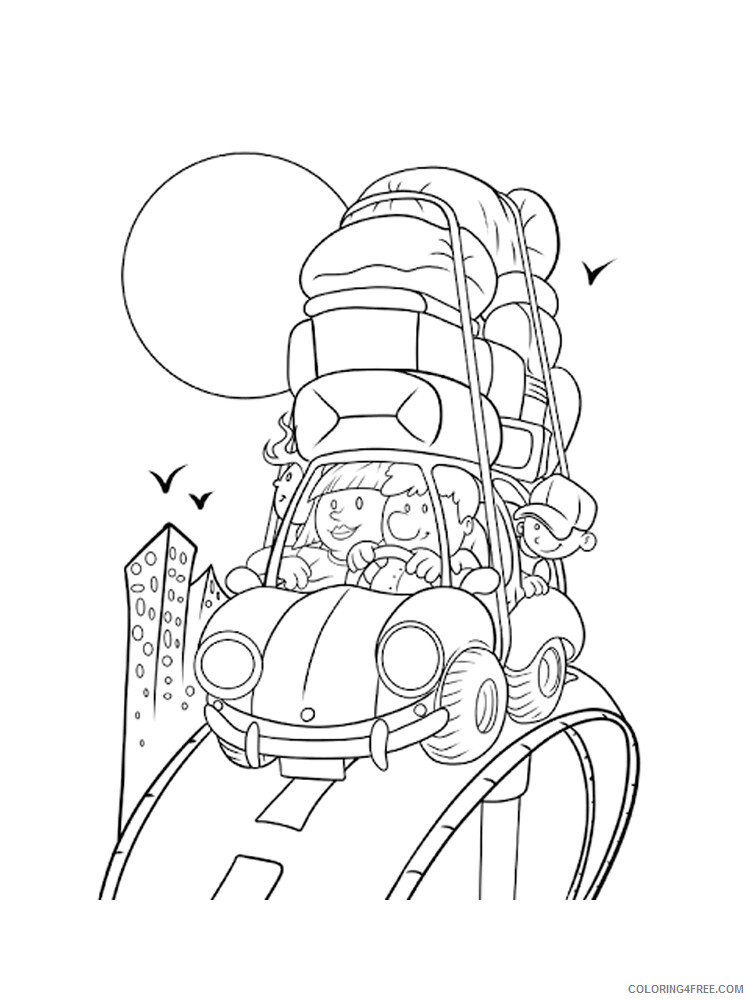 Travel Coloring Pages for Kids Travel 11 Printable 2021 681 Coloring4free