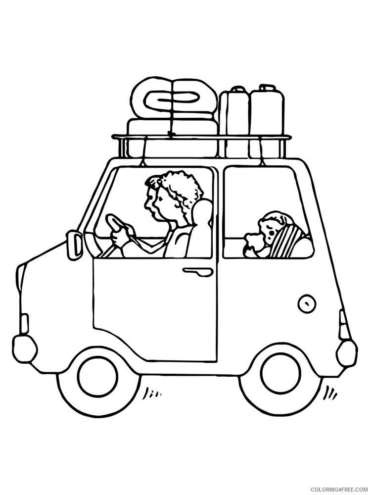 Travel Coloring Pages for Kids Travel 5 Printable 2021 685 Coloring4free