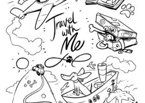 Travel Coloring Pages Coloring4free Com