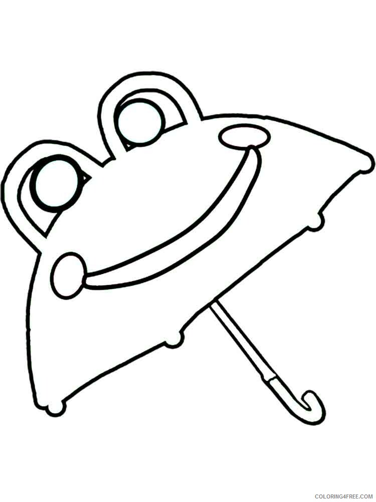 Umbrella Coloring Pages for Kids umbrella 5 Printable 2021 736 Coloring4free