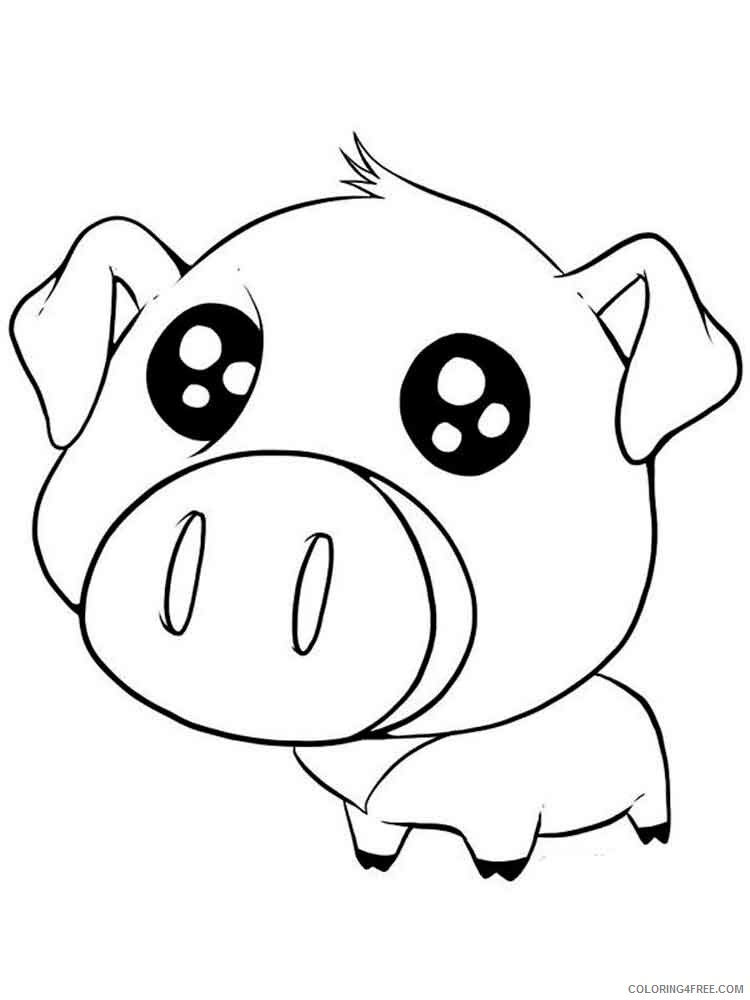 Anime Animals Coloring Pages Anime Animals 3 Printable 2021 0210  Coloring4free - Coloring4Free.com