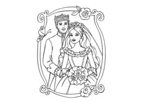 Barbie Coloring Pages Page 5 Of 7 Coloring4free Com