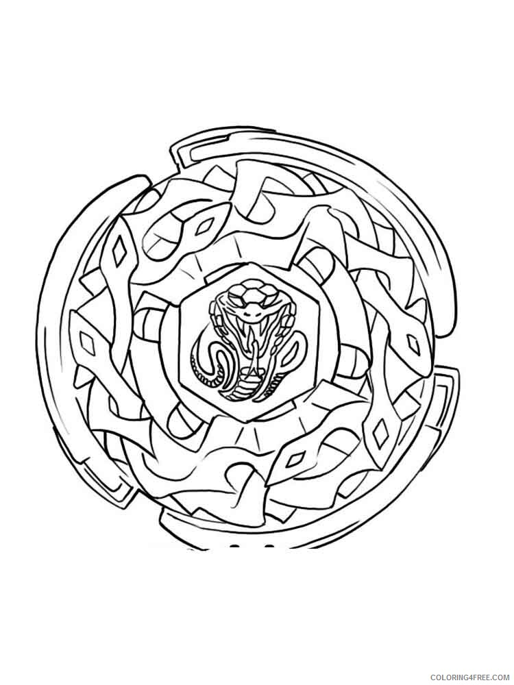 Beyblade Coloring Pages Anime Beyblade 18 Printable 2021 023 Coloring4free Coloring4free Com