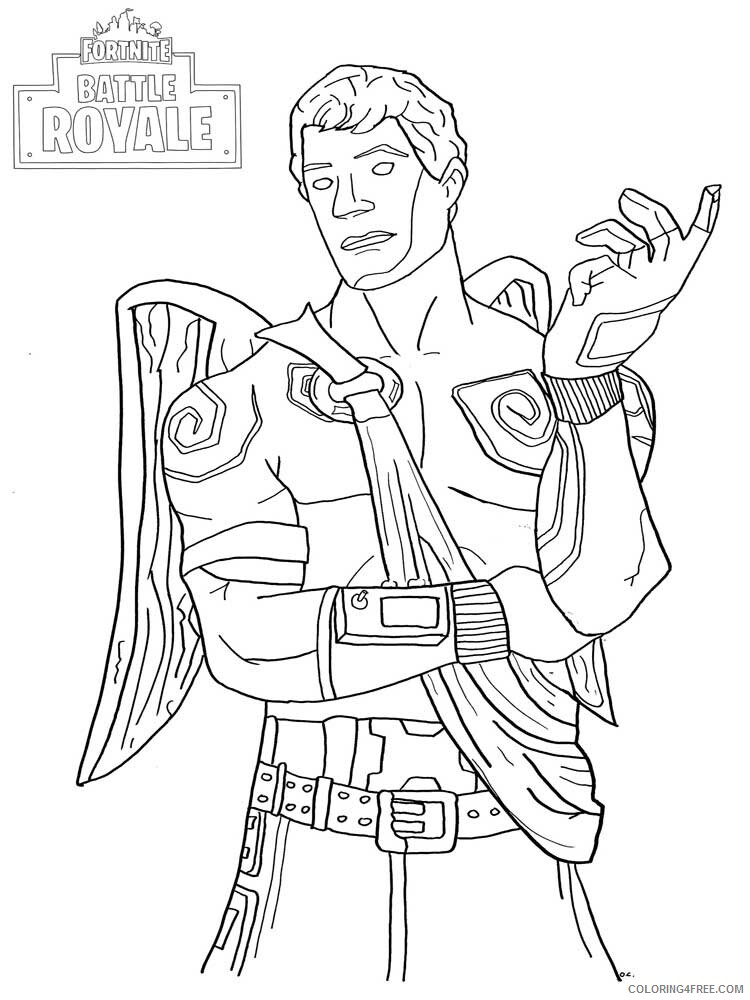 Fortnite Coloring Pages Games Fortnite 7 Printable 2021 0270 Coloring4free  - Coloring4Free.com