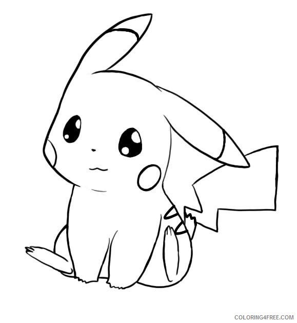 Pikachu Printable Coloring Pages Anime 1529290954 How To Draw Pikachu Pokemon Step 7 1 000000129817 5 2021 0927 Coloring4free Coloring4free Com