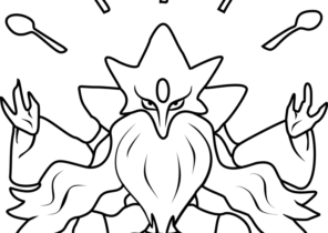 Pokemon Printable Coloring Pages Page 2 Of 42 Coloring4free Com