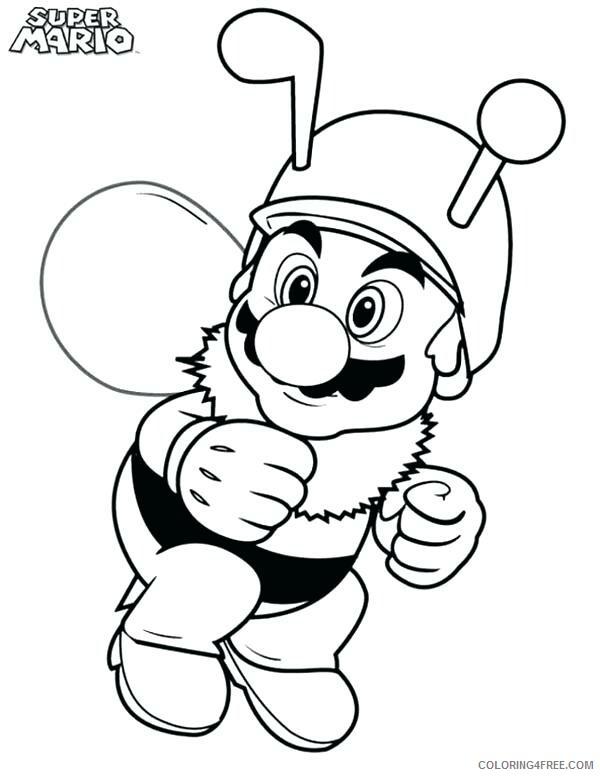 Super Mario Coloring Pages Games Funny Mario Printable 2021 1161  Coloring4free - Coloring4Free.com