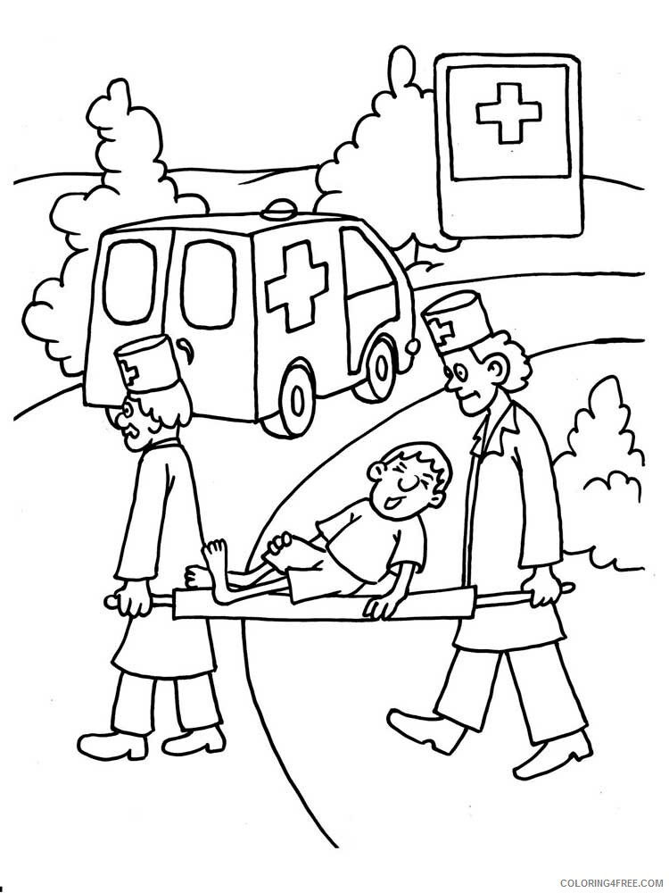 Doctor Coloring Pages Doctor 9 Printable 2021 2052 Coloring4free