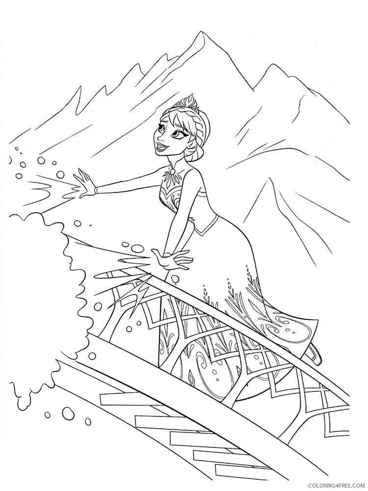 Elsa Coloring Pages Elsa 2 Printable 2021 2122 Coloring4free