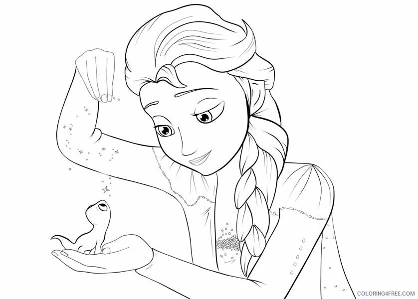 Elsa Coloring Pages elsa 2 Printable 2021 2116 Coloring4free