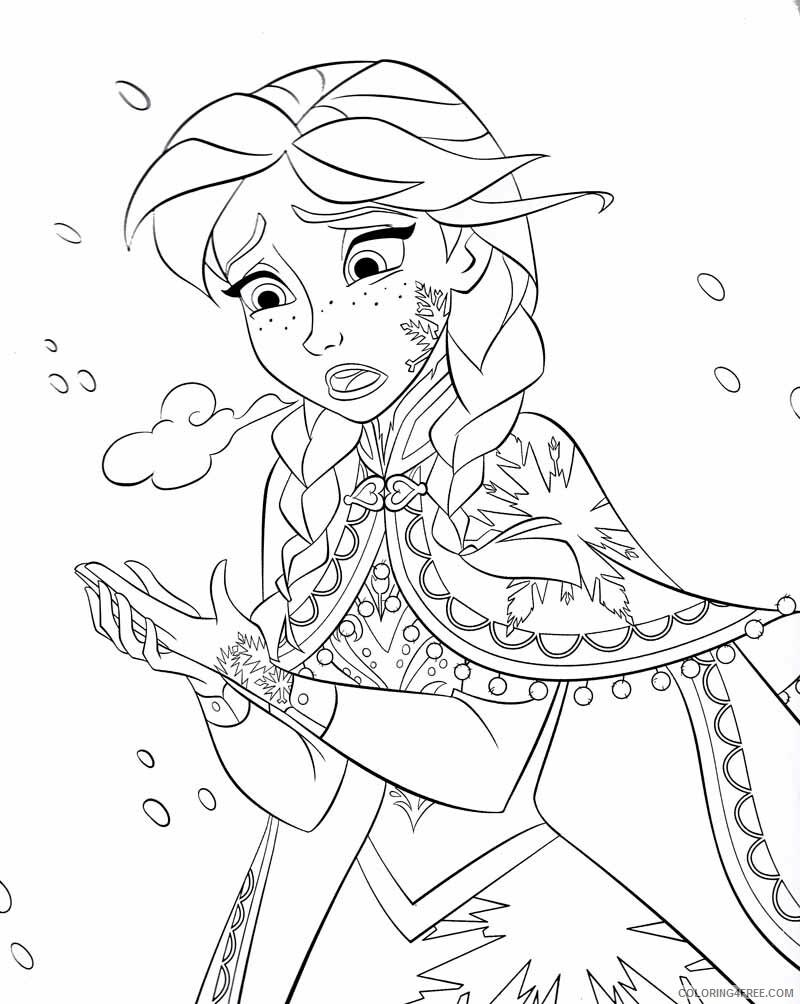 Elsa Coloring Pages elsa spess Printable 2021 2129 Coloring4free