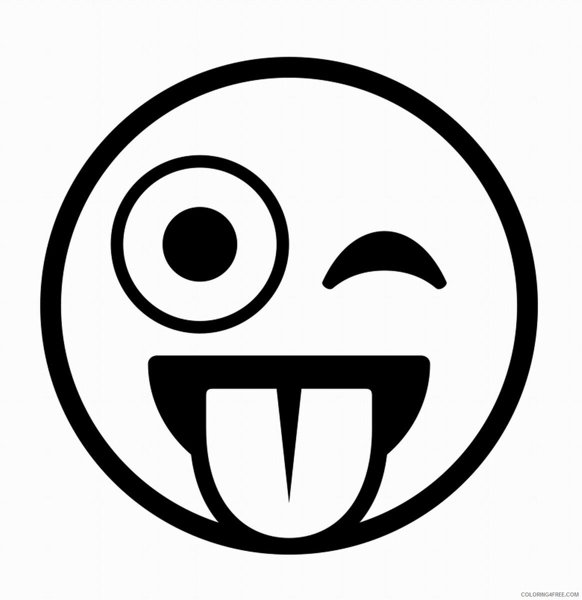 Emoji Coloring Pages Emoji Printable 2021 2175 Coloring4free