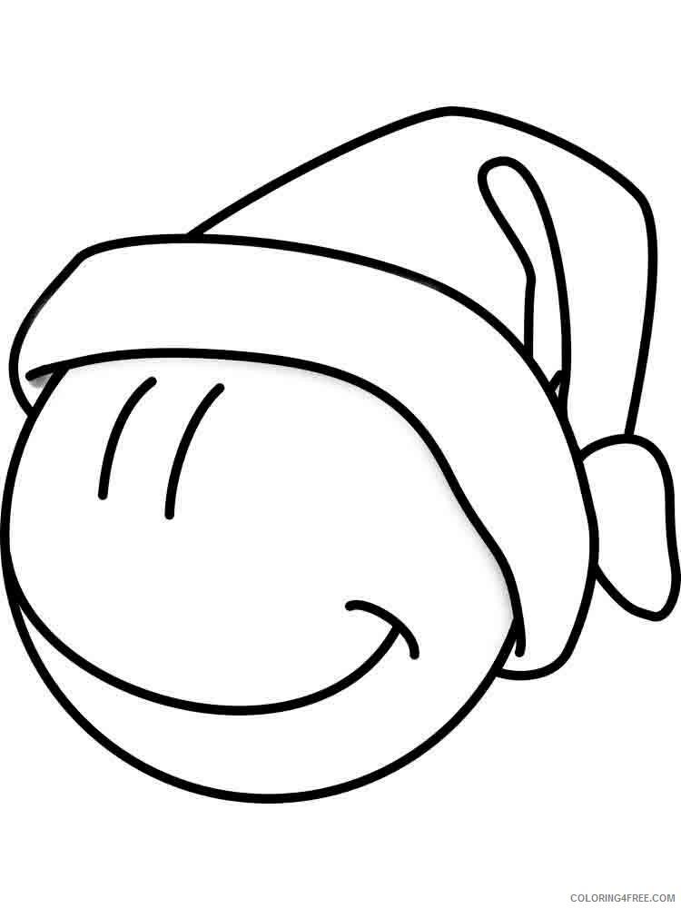 Emoji Coloring Pages Emojis 25 Printable 2021 2222 Coloring4free