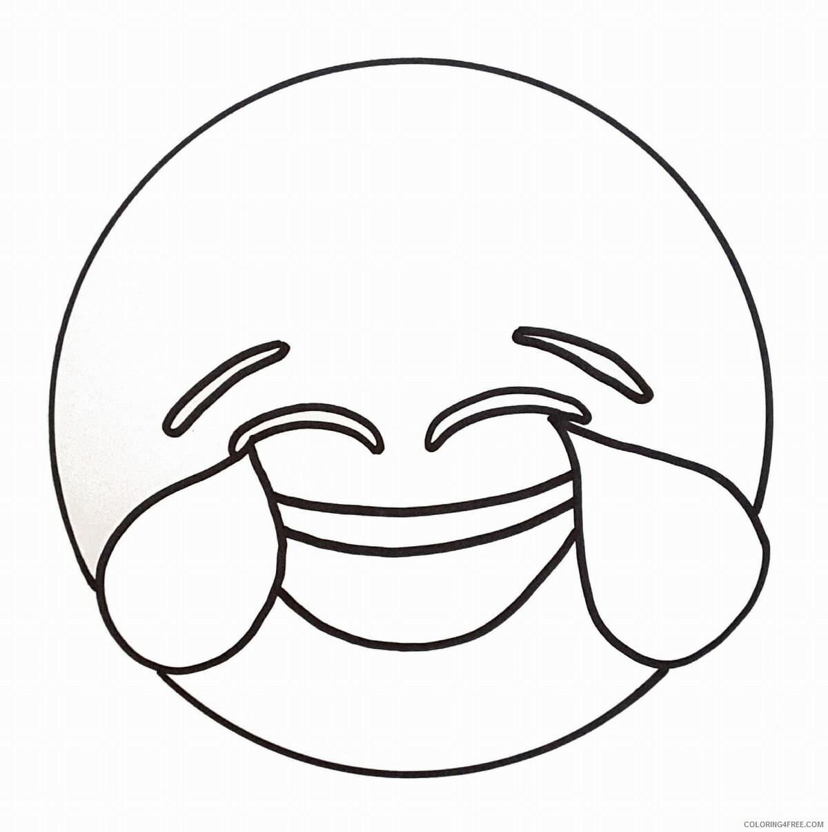Emoji Coloring Pages emoji17 Printable 2021 2160 Coloring4free