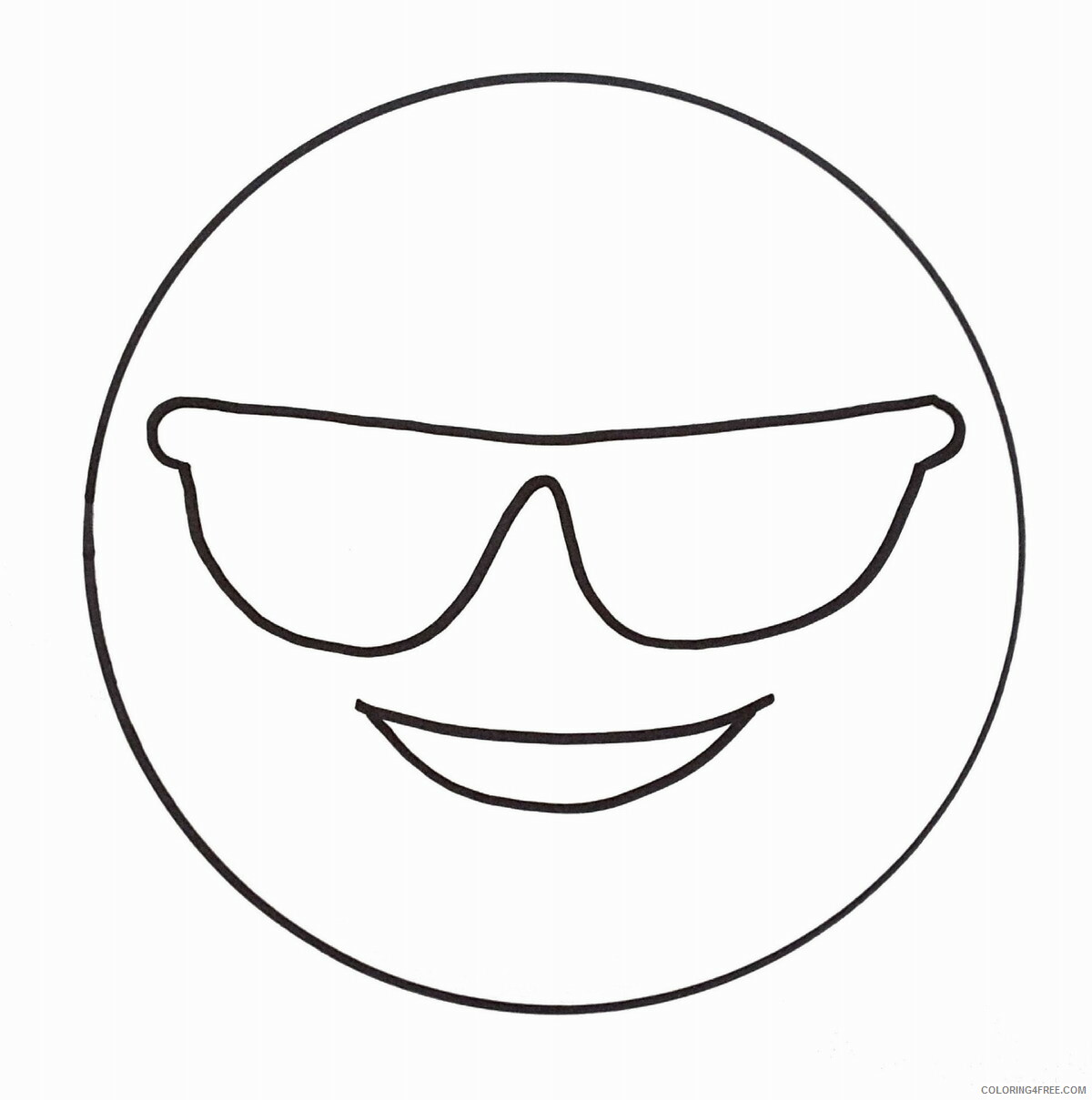 Emoji Coloring Pages emoji18 Printable 2021 2161 Coloring4free