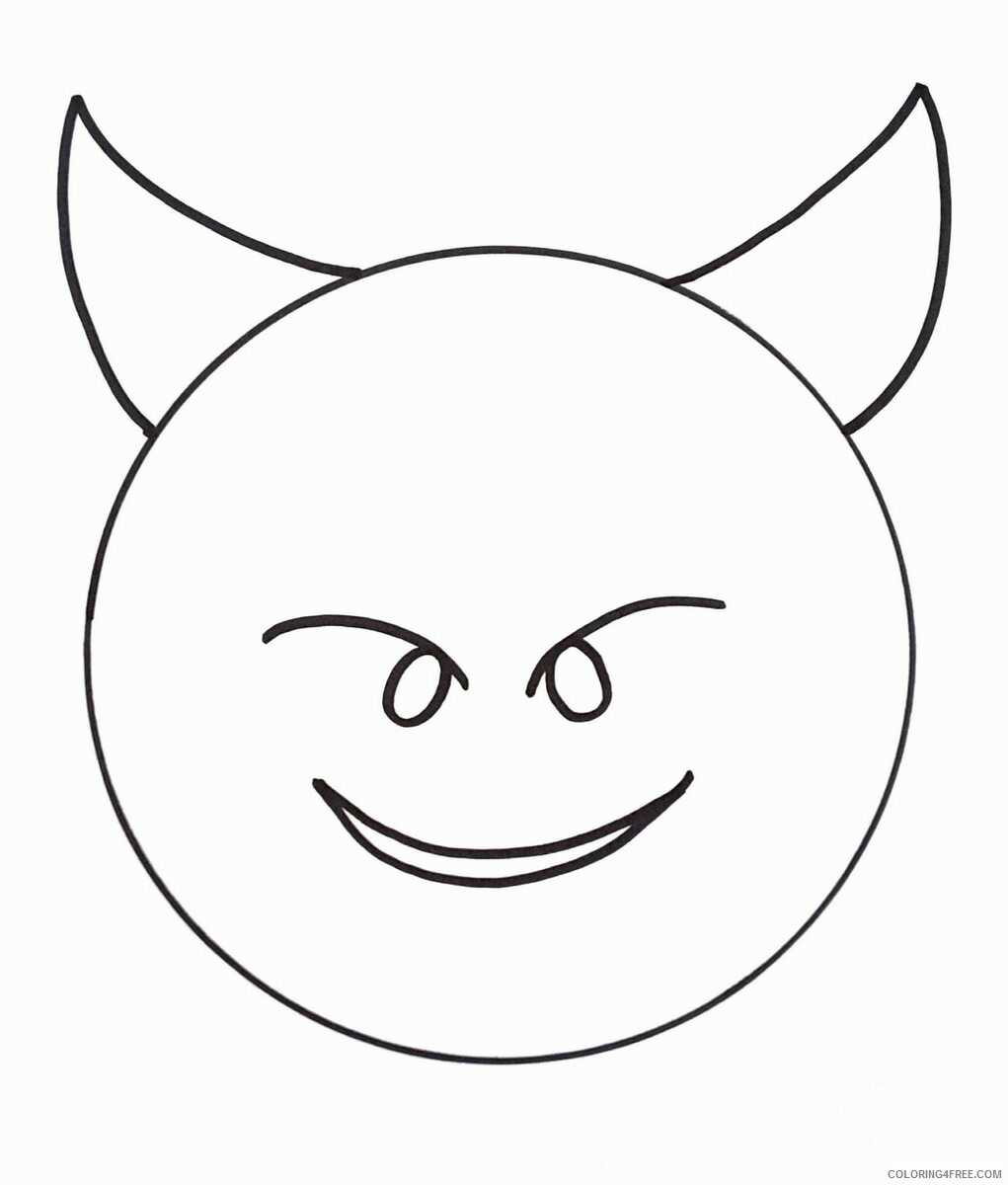 Emoji Coloring Pages emoji19 Printable 2021 2162 Coloring4free