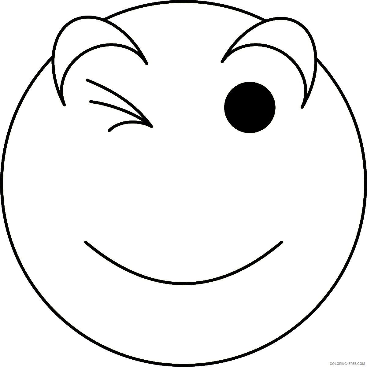 Emoji Coloring Pages emoji31 Printable 2021 2168 Coloring4free