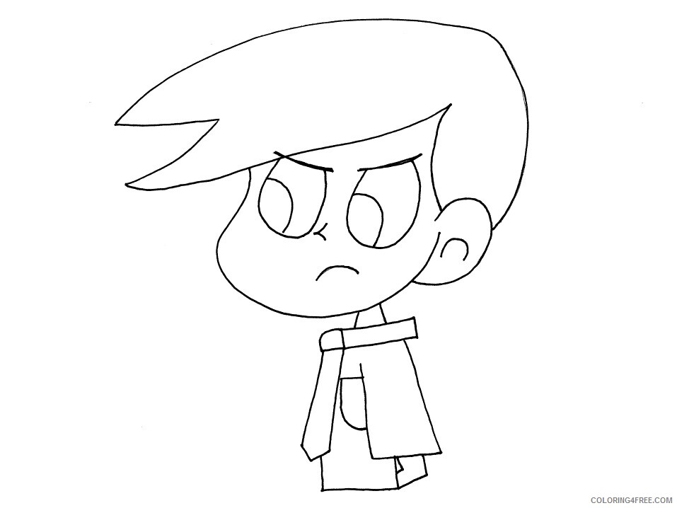 Emotions Coloring Pages boy angry Printable 2021 2268 Coloring4free