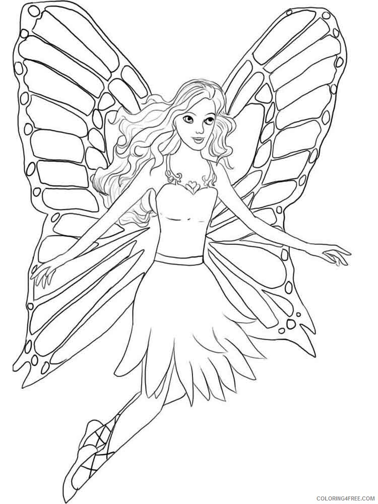 Fairy Coloring Pages fairy for adults 9 Printable 2021 2357 Coloring4free