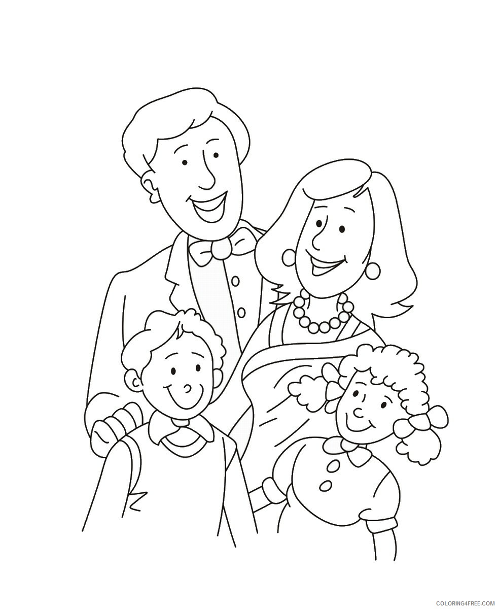 Family Coloring Pages family_cl58 Printable 2021 2446 Coloring4free