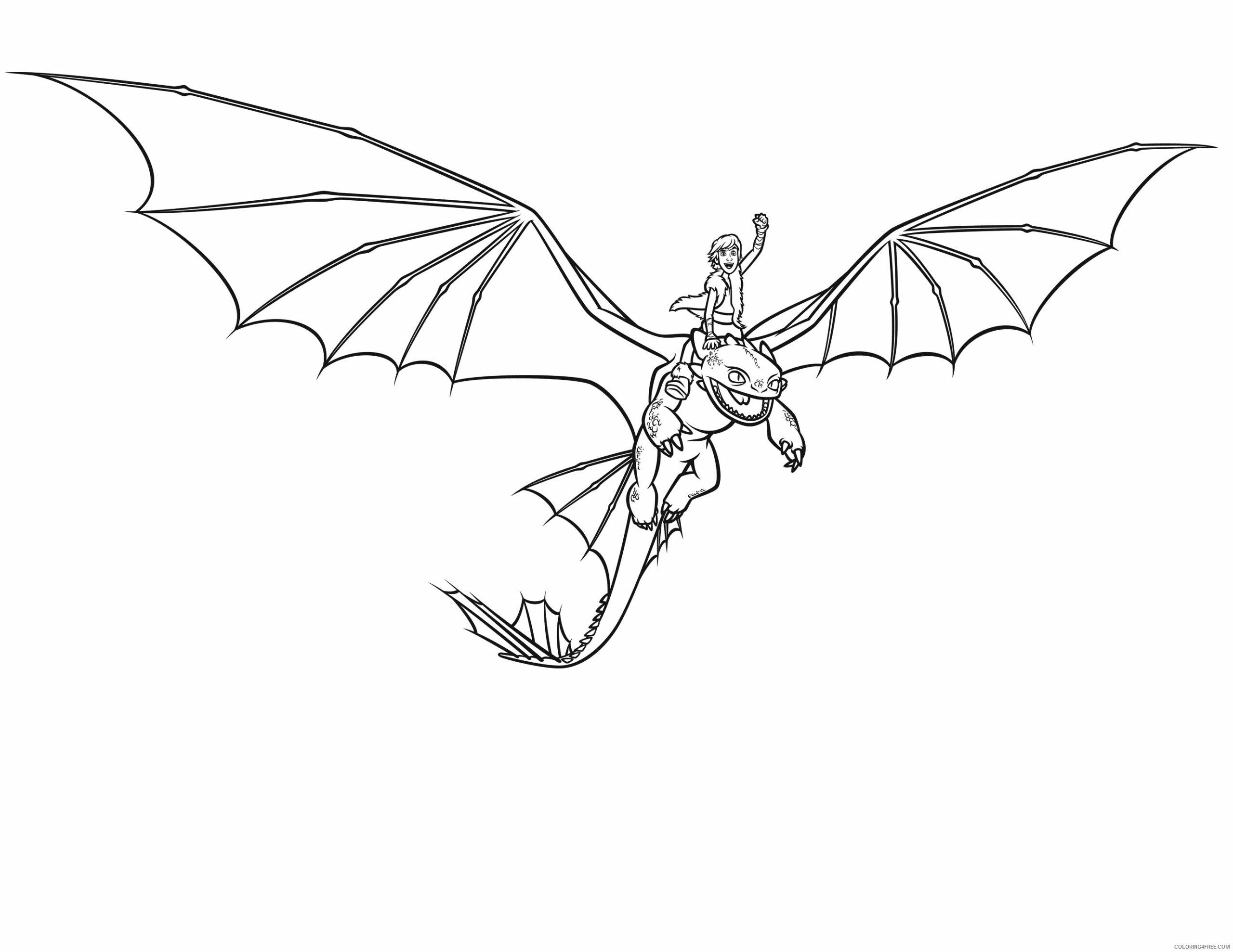 Fantasy Dragons Coloring Pages Dragon to Print Printable 2021 2580 Coloring4free