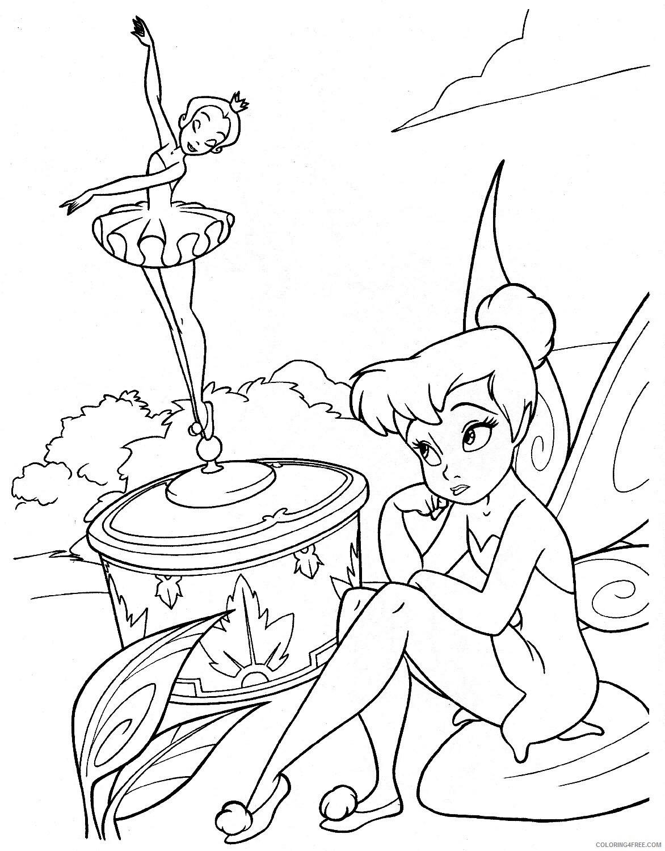Fantasy Fairies Coloring Pages Disney Fairies 2 Printable 2021 2612 Coloring4free