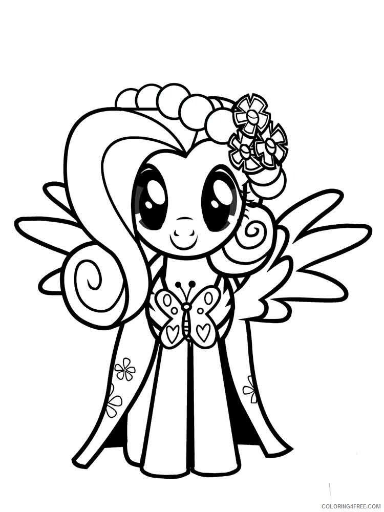 Fluttershy Coloring Pages Fluttershy 2 Printable 2021 2681 Coloring4free