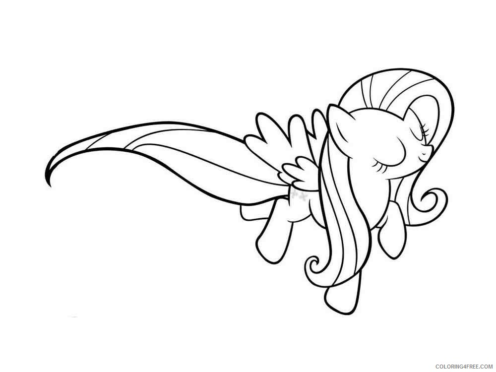 Fluttershy Coloring Pages Fluttershy 5 Printable 2021 2684 Coloring4free