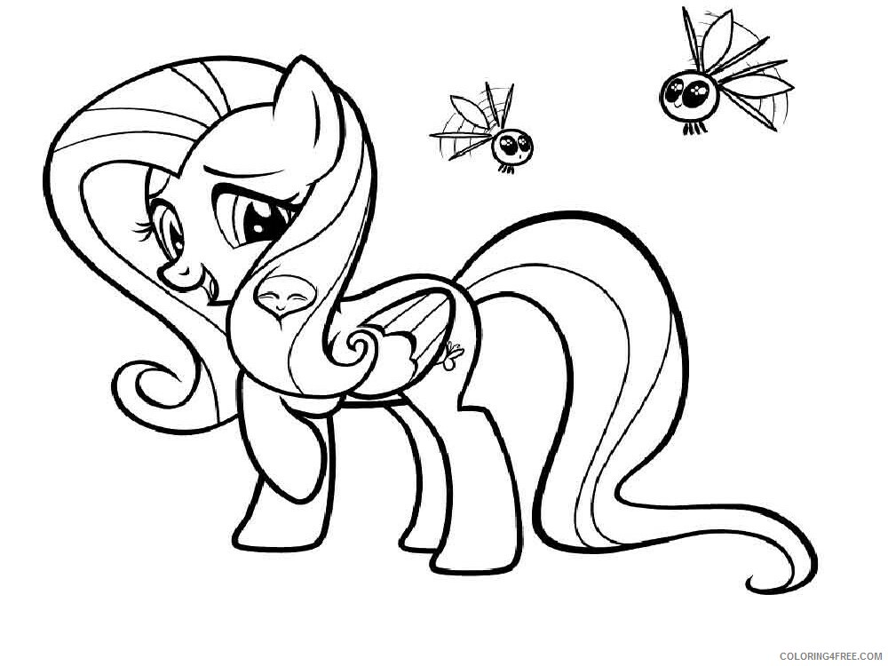 Fluttershy Coloring Pages Fluttershy 9 Printable 2021 2687 Coloring4free