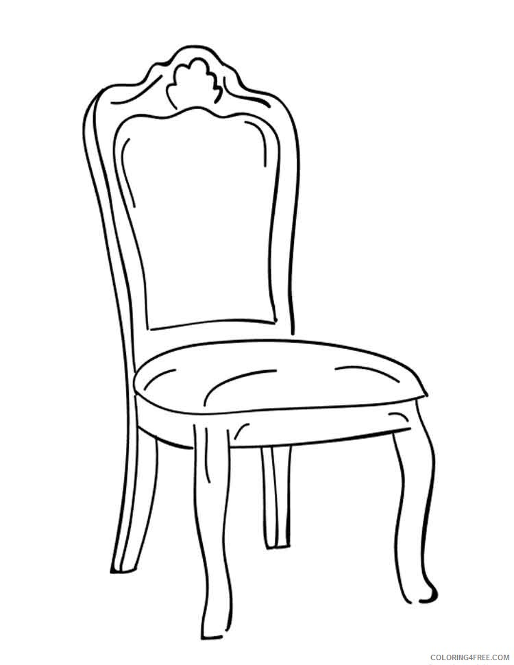 Furniture Coloring Pages Furniture 37 Printable 2021 2764 Coloring4free