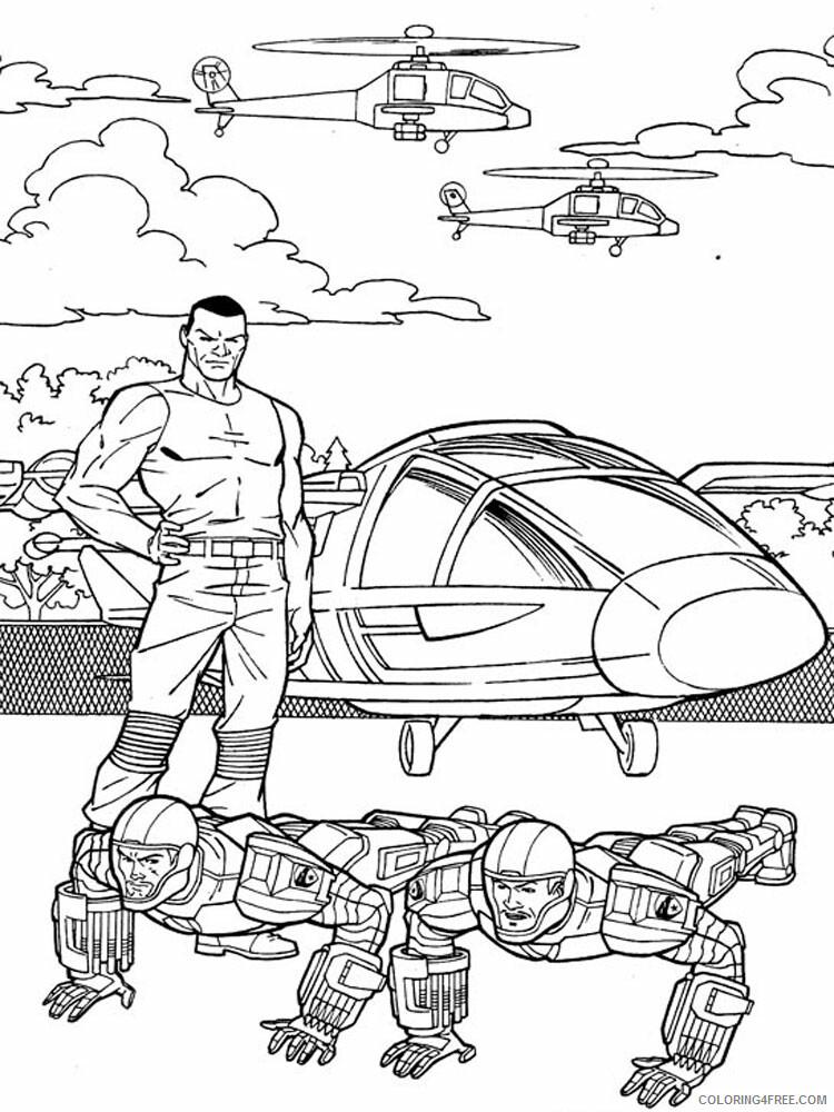 GI Joe Coloring Pages gi joe for boys 8 Printable 2021 2883 Coloring4free
