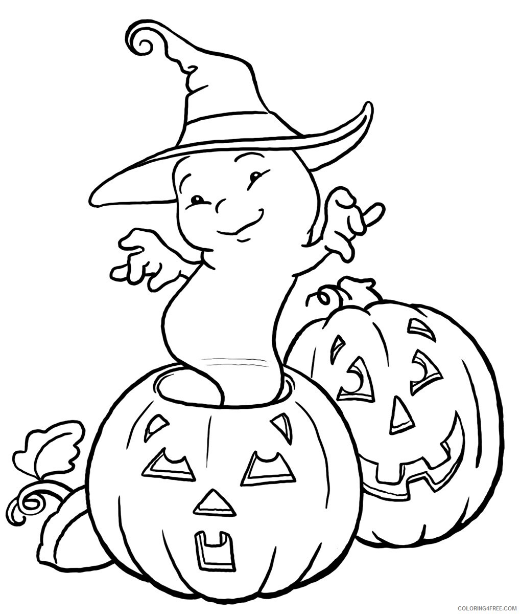 Ghost Coloring Pages Ghost For Kids Printable 2021 2822 Coloring4free