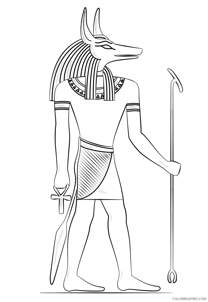 God Coloring Pages 1548756518_anubis the god of death Printable 2021 2980 Coloring4free