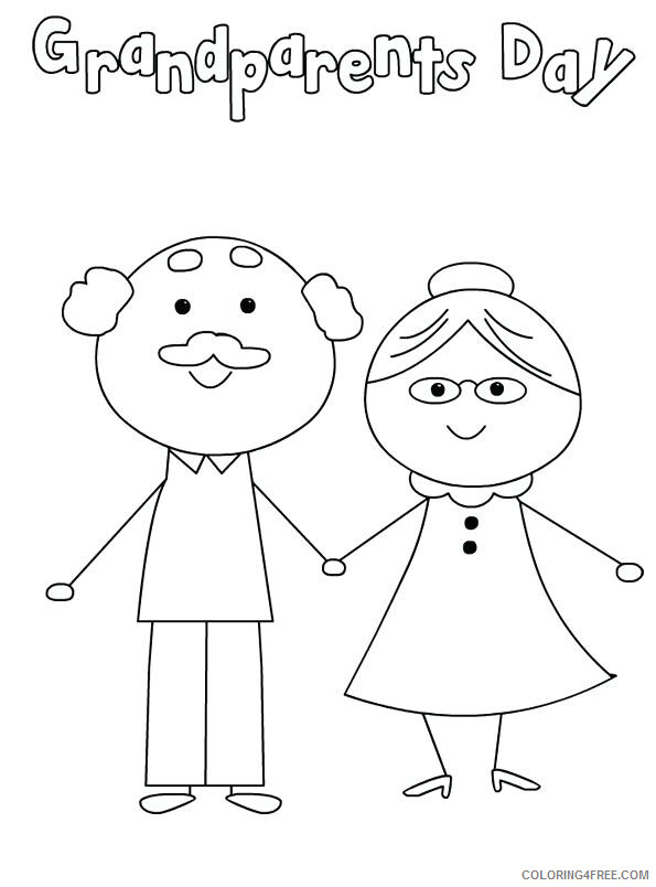 Grandparents Coloring Pages Grandparents Day Free Printable 2021 3023 Coloring4free