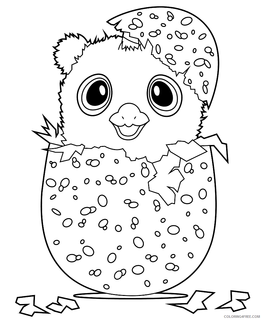 Hatchimals Coloring Pages Hatchimal Collegtables Printable 2021 3068 Coloring4free