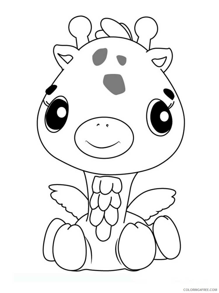 Hatchimals Coloring Pages Hatchimals 10 Printable 2021 3074 Coloring4free